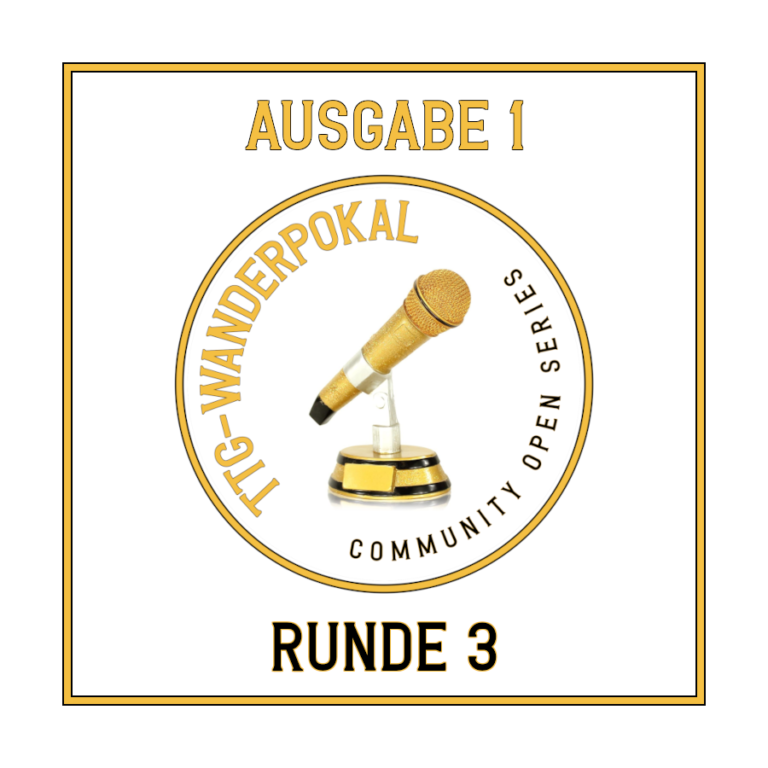 TTG Wanderpokal #1, Quiz-Runde 3